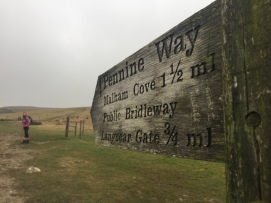 Heading off on the Pennine Way